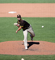 Nick Ramirez - San Diego Padres 2021 spring training (Bill Mitchell)