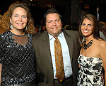 Ann Peeples, Cody Huffman and Lisa Tagliarino at the the Simon Fashion Now extravaganza  at The Galleria Thursday Sept. 17,2009.(Dave Rossman/For the Chronicle)