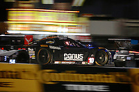 Night action, Rolex 24 at Daytona, Daytona International Speedway, Daytona Beach, FL, January 2014.  (Photo by Brian Cleary/www.bcpix.com)