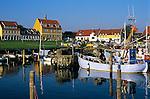 Denmark, Zealand, Gilleleje: Fishing harbour | Daenemark, Insel Seeland, Gilleleje: Fischereihafen