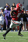 December 30, 2016: Georgia Bulldog wide receiver Isaiah McKenzie (16) in the first quarter of the AutoZone Liberty Bowl at Liberty Bowl Memorial Stadium in Memphis, Tennessee. ©Justin Manning/Eclipse Sportswire/Cal Sport Media