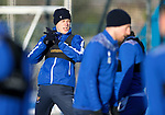 St Johnstone Training…. 29.12.20<br />Murray Davidson pictured during training at McDiarmid Park this morning ahead of tomorrows game against Hamilton<br />Picture by Graeme Hart.<br />Copyright Perthshire Picture Agency<br />Tel: 01738 623350  Mobile: 07990 594431