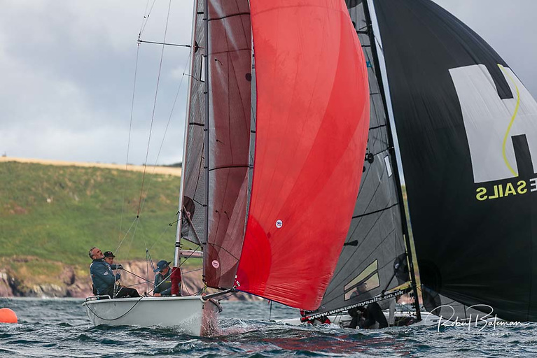 A nine boat fleet contested the SB20 Southern title at Royal Cork Yacht Club