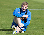 St Johnstone Training….26.08.16<br />Brian Easton pictured during training this morning at McDiarmid Park ahead of tomorrow's trip to Inverness<br />Picture by Graeme Hart.<br />Copyright Perthshire Picture Agency<br />Tel: 01738 623350  Mobile: 07990 594431