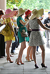 Scenes from around the track on Belmont Stakes Day on June 8, 2013 at Belmont Park in Elmont, New York.  (Bob Mayberger/Eclipse Sportswire)