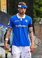 Felix Platte (SV Darmstadt 98) mit Platzwunde muss behandelt werden und wird ausgwechselt<br /> <br /> - 23.05.2020: Fussball 2. Bundesliga, Saison 19/20, Spieltag 27, SV Darmstadt 98 - FC St. Pauli, emonline, emspor, v.l. <br /> <br /> Foto: Florian Ulrich/Jan Huebner/Pool VIA Marc Schüler/Sportpics.de<br /> Nur für journalistische Zwecke. Only for editorial use. (DFL/DFB REGULATIONS PROHIBIT ANY USE OF PHOTOGRAPHS as IMAGE SEQUENCES and/or QUASI-VIDEO)