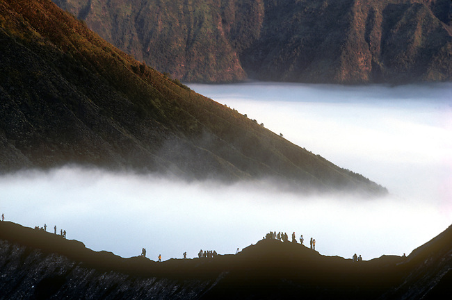 Kesada Offering, Volcano Bromo, Java, Indonesia