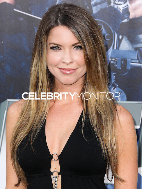 HOLLYWOOD, LOS ANGELES, CA, USA - AUGUST 11: Nicole Andrews at the Los Angeles Premiere Of Lionsgate Films' 'The Expendables 3' held at the TCL Chinese Theatre on August 11, 2014 in Hollywood, Los Angeles, California, United States. (Photo by Xavier Collin/Celebrity Monitor)