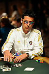 EPT tournament director Thomas Kremser competes on Day 1B of the WSOP Main Event.