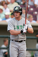 Clinton Lumberkings Truan Mehl during a Midwest League game at Fifth Third Field on July 18, 2006 in Dayton, Ohio.  (Mike Janes/Four Seam Images)
