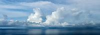 Rain clouds over Hawaii, The Big Island
