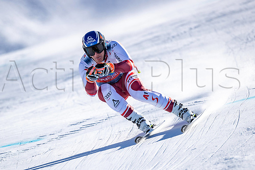 11th November 2020; Obergurgl, Austria; Matthias Mayer of Austria during a free downhill training for the mens OeSV team in Obergurgl, Austria