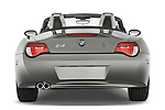 Straight rear view of a 2008 BMW Z4 Roadster