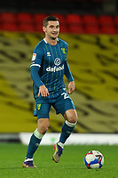 26th December 2020; Vicarage Road, Watford, Hertfordshire, England; English Football League Championship Football, Watford versus Norwich City; Kenny McLean of Norwich City