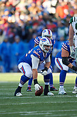 Buffalo Bills center Ryan Groy (72) during an NFL football game against the New York Jets, Sunday, December 9, 2018, in Orchard Park, N.Y.  (Mike Janes Photography)