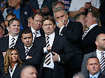 The Rangers board before the match