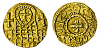 BNPS.co.uk (01202) 558833. <br /> Pic: Spink&Son/BNPS<br /> <br /> Pictured: This Anglo-Saxon England, Bishops of York (c. 620-655), Gold Shilling sold for £30,000. <br /> <br /> A finance director's remarkable collection of historic Anglo-Saxon coins has sold for a staggering £856,000.<br /> <br /> Tony Abramson, president of the Yorkshire Numismatic Society, started collecting aged four in the 1950s.<br /> <br /> His passion developed during his teenage years and he went to great lengths to bolster his collection in the decades that followed until it reached 1,200 coins.