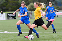 Libby Boobyer of Capital during the Handa Women's Premiership - Capital Football v Southern United at Petone Memorial Park, Wellington on Saturday 7 November 2020.<br /> Copyright photo: Masanori Udagawa /  www.photosport.nz