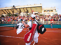 1993, Tennis, Paris, Roland Garros, Richard Krajicek waves to the crowd