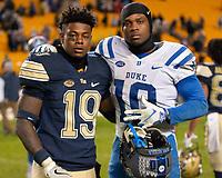 10-27-18 Duke Blue Devils at Pitt Panthers