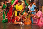 Pilgrims, Ganges River, Varanasi, India