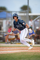 Giovanni DiGiacomo (36) while playing for Padres Scout Team/Scorpions based out of Altamonte Springs, Florida during the WWBA World Championship at the Roger Dean Complex on October 21, 2017 in Jupiter, Florida.  Giovanni DiGiacomo is a outfielder / pitcher from Naples, Florida who attends Canterbury High School.  (Mike Janes/Four Seam Images)