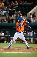 St. Lucie Mets J.C. Rodriguez (14) bats during the Florida State League All-Star Game on June 17, 2017 at Joker Marchant Stadium in Lakeland, Florida.  FSL North All-Stars defeated the FSL South All-Stars  5-2.  (Mike Janes/Four Seam Images)