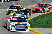 NASCAR Camping World Truck Series<br /> Alpha Energy Solutions 250<br /> Martinsville Speedway, Martinsville, VA USA<br /> Saturday 1 April 2017<br /> Timothy Peters, John Hunter Nemechek, Grant Enfinger, Ty Dillon<br /> World Copyright: Logan Whitton/LAT Images<br /> ref: Digital Image 17MART1LW1787