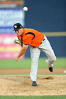 July 15, 2009:  Pitcher Chad Thall of the Bowie Baysox during the 2009 Eastern League All-Star game at Mercer County Waterfront Park in Trenton, NJ.  Photo By David Schofield/Four Seam Images
