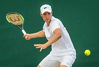 London, England, 8 th July, 2017, Tennis,  Wimbledon, Junior boys: Ryan Nijboer (NED)<br /> Photo: Henk Koster/tennisimages.com
