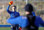 St Johnstone Training…. 06.01.21<br />Scott Tanser pictured having fun with Chris Kane during training at McDiarmid Park ahead of Saturday's game against local rivals Dundee Utd.<br />Picture by Graeme Hart.<br />Copyright Perthshire Picture Agency<br />Tel: 01738 623350  Mobile: 07990 594431