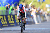 9th September 2021; Trento, Trentino–Alto Adige, Italy: 2021 UEC Road European Cycling Championships, Womens Individual time trials:  ERHARTER Gabriela (AUT)