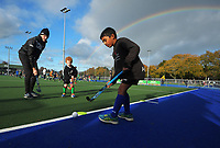 George Enersen. Vantage Black Sticks hockey community session prior to the upcoming Sentinel Homes Trans-Tasman Series at Twin Turfs in Palmerston North, New Zealand on Tuesday, 25 May 2021. Photo: Dave Lintott / lintottphoto.co.nz