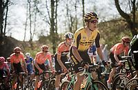 Wout Van Aert (BEL/Jumbo-Visma) <br /> <br /> 62nd E3 BinckBank Classic (Harelbeke) 2019 <br /> One day race (1.UWT) from Harelbeke to Harelbeke (204km)<br /> <br /> ©kramon
