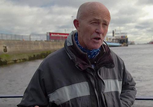 Eamonn O'Reilly, CEO of Dublin Port.  Photo:RTE/Screenshot