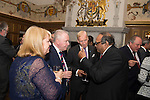 Cabinet Secretary for Health and Wellbeing, Alex Neil hosted the International Diabetes Federation Reception and Dinner within theGreat Hall Edinburgh Castle this evening.<br /> Great Hall, Edinburgh Castle <br /> Pic Kenny Smith, Kenny Smith Photography<br /> 6 Bluebell Grove, Kelty, Fife, KY4 0GX <br /> Tel 07809 450119,