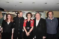 Luna PICOLI TRUFFAUT - Paul HAMY - Fanny ARDANT - Gerard DEPARDIEU - Paulo BRANCO - Avant premiere du film ' Le Divan de Staline ' le 10 janvier 2017 - Paris - France