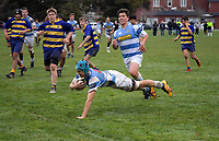 180804 Wellington College Rugby Under-15 Semifinal - St Pats Silverstream v St Bernards College