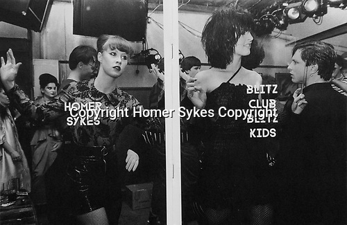 Blitz Club Blitz Kids.<br /> Published 2017 by Poursuite Editions Paris. <br /> 9 x 6.25 inches 36 pages. <br /> Price £75.00 including p&p in UK. Very very few left.