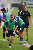 SAN JOSE, CA - SEPTEMBER 5: Jackson Yueill #14 of the San Jose Earthquakes before a game between Colorado Rapids and San Jose Earthquakes at Earthquakes Stadium on September 5, 2020 in San Jose, California.