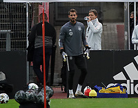 Torwart Kevin Trapp (Deutschland Germany) <br /> - 05.10.2020: Training der Deutschen Nationalmannschaft, Suedstadion Koeln<br /> DISCLAIMER: DFB regulations prohibit any use of photographs as image sequences and/or quasi-video.