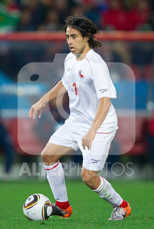 Jorge Valdivia of Chile during the 2010 FIFA World Cup South Africa. EXPA Pictures © 2010, PhotoCredit: EXPA/ Sportida/ Vid Ponikvar +++ Slovenia OUT +++