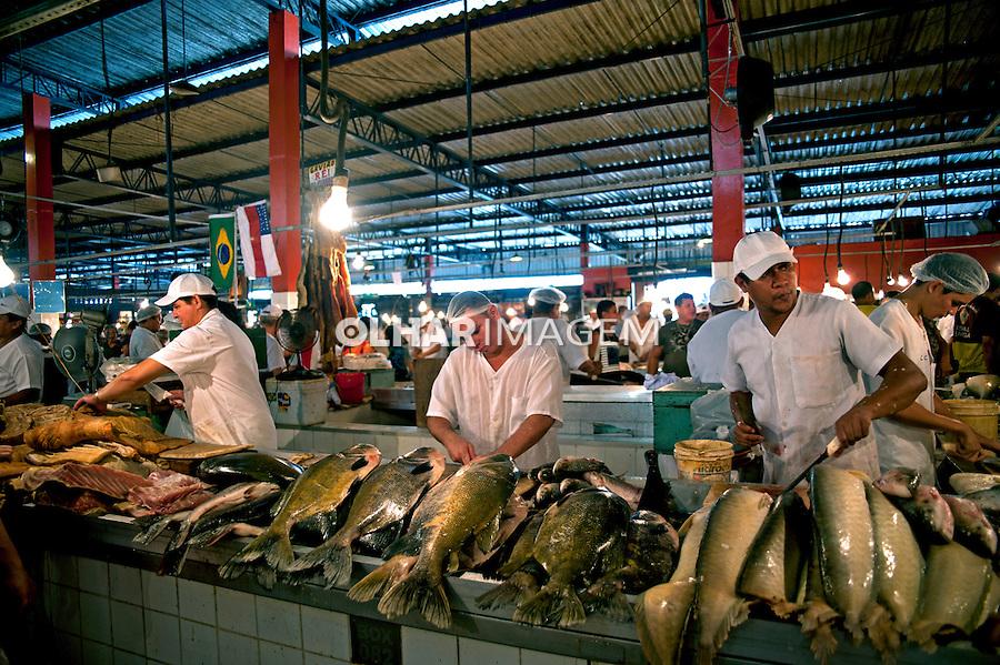 Mercado Publico em Manaus. Amazonas. 2010. Foto de Cris Berger.