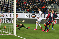 Nikola Kalinic of AS Roma scores the goal of 1-2 <br /> Cagliari 01/03/2020 Sardegna Arena <br /> Football Serie A 2019/2020 <br /> Cagliari Calcio - AS Roma    <br /> Photo Gino Mancini / Insidefoto