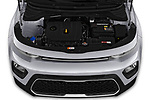 Car Stock 2020 KIA Soul S 5 Door Hatchback Engine  high angle detail view