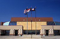 arena, stadium, Winston-Salem, NC, North Carolina, Lawrence Joel Veterans Memorial Coliseum in Winston-Salem.