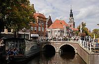 Nederland  Alkmaar- September 2020 . Gracht in het centrum van Alkmaar.  Foto : ANP/ Hollandse Hoogte / Berlinda van Dam