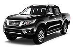 2016 Nissan NP300 Tekna 4 Door Pickup Angular Front stock photos of front three quarter view