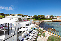 BNPS.co.uk (01202 558833)<br /> Pic: CapVillas/BNPS<br /> <br /> It comes with a private beach with its own pontoon, sun-deck and some of its original beach cabins.<br />  <br /> A glamorous villa that has hosted a string of celebrities including Winston Churchill, Pablo Picasso, the Duke of Windsor and Edith Piaf is on the market for £9m (10.5m euros).<br /> <br /> The exquisite Villa La Garoupe Beach sits on a natural sand beach and has its own private beach on one of the French Riviera's most exclusive spots.<br /> <br /> It was once a renowned beach club and the list of names connected to the property are endless. French singer Edith Piaf hosted her engagement party to Theo Sarapo there and it was also visited by former US President Harry Truman, writer Ernest Hemingway, Bond actor Sean Connery and movie star Marlene Dietrich.<br /> <br /> The property in Cap d'Antibes has four bedrooms suitable for six to eight people, three bathrooms and a living area overlooking the sea.