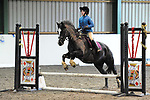 Stapleford Abbotts. United Kingdom. 28 October 2018. Class 4. Christmas Extravaganza showjumping. Brook Farm training centre. Stapleford Abbotts. Essex. UK. 28/10/2018.  MANDATORY Credit Ellen Szalai/Sport in Pictures - NO UNAUTHORISED USE - 07837 394578